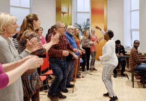 Voice of Hope Wellbeing Gospel Choir Sing Gospel